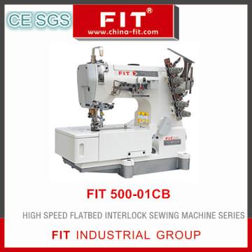 High Speed Flatbed Interlock Sewing Machine (FIT 500-01CB)