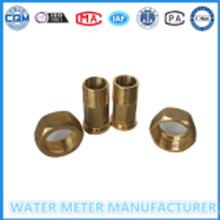 Water Meter Yellow Metal Connectors