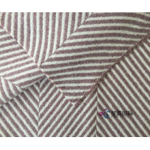 Woolen Merasakan Super Chunky Double Side Wool Fabric