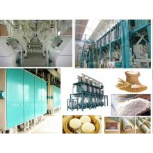 Цельнокомбинационная мукомольная мельница (50-500 т / сутки)