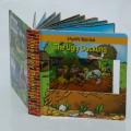 Libro 3D lindo e interesante de dibujos animados para niños