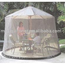 Parasol de jardin Moustiquaire