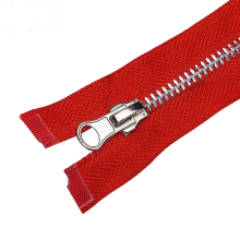 Customized for Stainless Steel Metal Zipper No.5 Separating Stainless Steel Metal Jacket Zipper supply to Portugal Factory