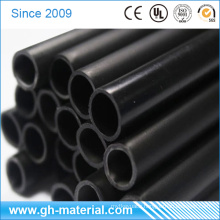 11mm Black Factory Supply Plastic Tubes PP PVC Rigid Pipe for LED Tube Cover