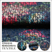 Conception personnalisée Différents types de tissu de laine de tweed de robe de polyester