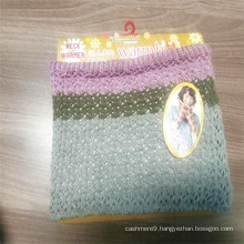 Warm Breathable 100% Polyester Knitted Neck Warmer