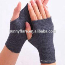 OEM High Quality Women Pure Cashmere Fingerless Gloves