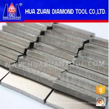 Segments de diamant à coupe rapide pour basalte
