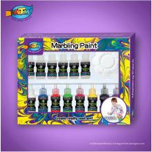 20ml eau Marbling kit 6 couleurs peinture marbrée magique