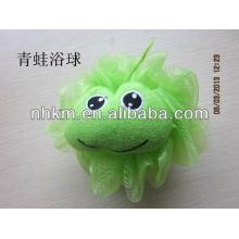 Frog Mesh Bath Sponge for Children