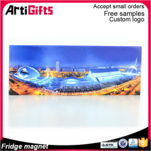 Дешевые оптовая горячая продажа 2Д бумажный плоский магнит холодильника