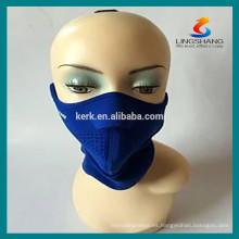 Deportes esquí máscaras protectoras casco medio neopreno máscara