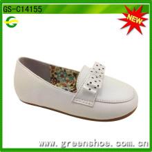 Nuevos zapatos del niño de la muchacha del estilo, zapatos suaves del niño de la sola