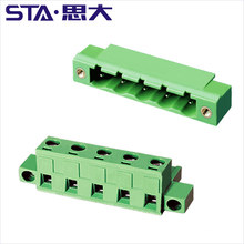 7.62mm Pitch PCB Mounting Terminal Block screw Wire Connector suitable for the electronics