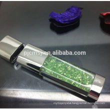 colorful crystal stone usb flash drive