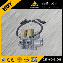 PC55MR-2 control valve solenoid valve 22F-60-21201
