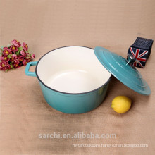 Cooking Soup Pot Cast Iron Enamel Cookware