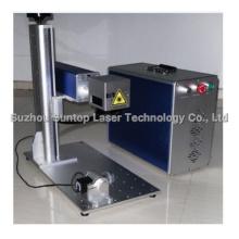 Máquina colorida da marcação do laser para o aço inoxidável / máquina de impressão do laser
