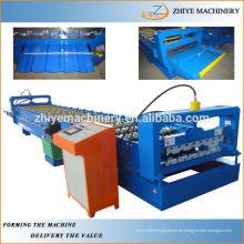 Farbige Stahl-Trapez-Dach-Profil-Plattenherstellungsmaschinen