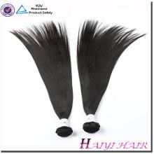 Heißer verkaufender großer Vorrat-natürliches Jungfrau-langes Haar-Geschlechts-indisches Menschenhaar Indien