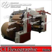 Автоматический бумажный крен для того чтобы свернуть печатную машину
