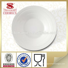 Fine bone china dinnerware handmade dinner plate white porcelain dishes