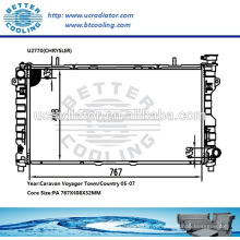 Kfz-Heizkörper für Chrysler CARAVAN Voyager Stadt / Land 05-07 OEM: 4677524AA