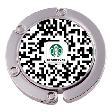 Custom Qr código saco gancho bolsa bolsa (XS-BH0523)