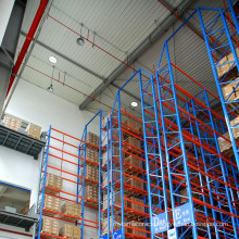 Material Handling of VNA heavy duty steel rack