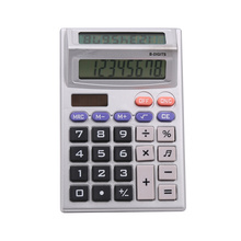 8 Digit Dual Displayed Desk Calculator