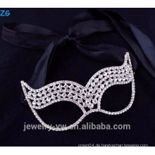 Schöne Modeschmuck Rhinestone Kinder Maskerade Party Masken, billig Party Masken