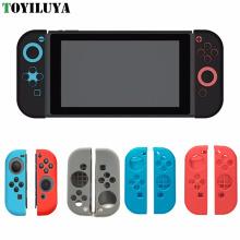Защитный силиконовый чехол кожного покрова для Nintendo переключатель радость-Кон контроллер 5 Цвет выбор