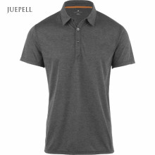 Grey Charcoal Gym Men Polo Shirt