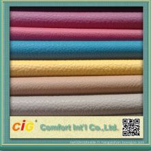 Stocks PU Leather for Garments