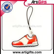 2016 mignon design chaussure forme pvc téléphone charmes