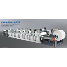 Mittlere Web-Flexodruckmaschine