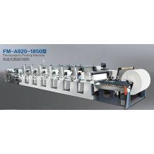 Máquina de impresión flexográfica media Web
