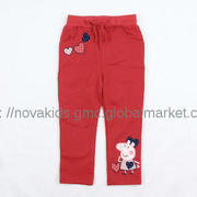children wear baby girl winter peppa pig new style pants trousers