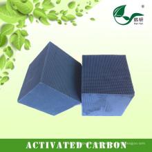 Bloque de carbón activado en nido de abeja para la eliminación de olores