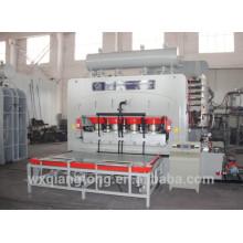 Máquina de pressão quente para piso laminado / máquina hidráulica de pressão quente / máquina de pressão de calor do cilindro de óleo