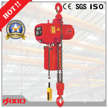 3t Hook Type Overload Limiter Electric Chain Hook Hoist