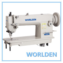 Wd-0302 Single Needle High Speed Top and Bottom Feed Lockstitch Machine