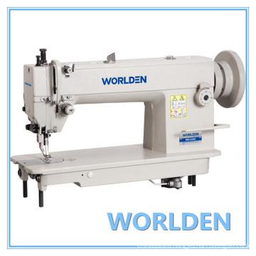 Wd-0302 Single Needle High Speed Top and Bottom Feed Lockstitch Machine