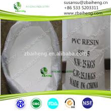 Resina pvc de polivinil clorídrico