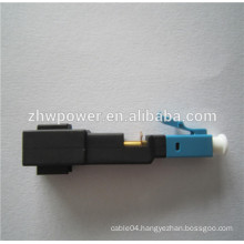 LC/UPC fiber optic fast connector / optical quick connector for FTTH network