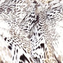 Tela tecida da cópia do pêssego de lãs do projeto da beleza (TLD-060)