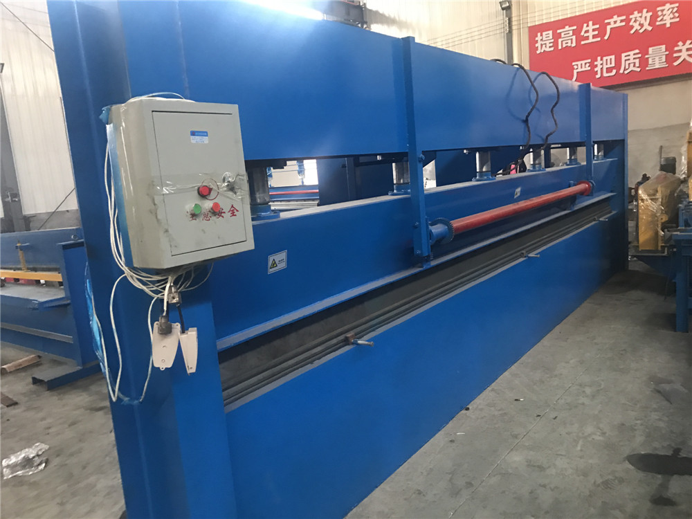 Steel Sheet Hydraulic Steel Bending Shearing Machine