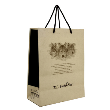 Partihandel Billiga Promotion Kraft Paper Bag