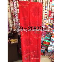 Le drap 100% de polyester place le tissu 100% d'impression de polyester