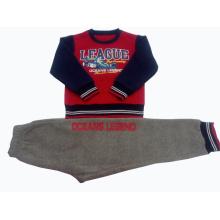 Мальчик Nunmber Толстовка пижамы, детский спортивный костюм в детской одежде